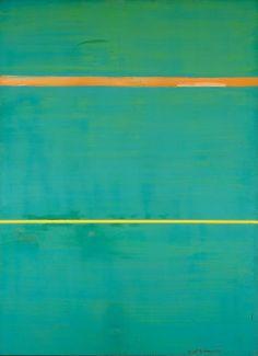 Dionysius / Barnett Newman / 1949 / love these colors! so dynamic...