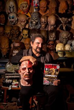 Tom Savini is an awesome person and he was really awesome in Dusk Til Dawn. I thought this picture motivated me because I hope someday I could be as great as he is at creating special effects makeup for these actors. Special Effects is something that I am really looking forward to. This motivated me by purpose and mastery as like I said the way to achieve mastery is to practice, practice, and practice.