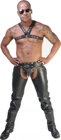 Sinner Revelation Leather Riding Chaps