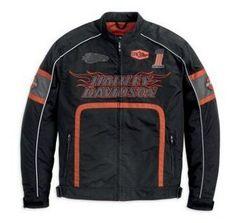 harley-davidson-men-s-incinerator-functional-jacket-98254-12vm Motorcycle Style, Motorcycle Jacket, Motorcycle Fashion, Harley Apparel, Biker Wear, Harley Davidson, Leather Jacket, Clothing, Motorcycles