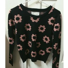 Urban Outfitters Sweater UO Coincidence & Chance Flower Sweater  Like new condition since I've only worn it once ☺️ Happy Poshing! Price is NEGOTIABLE! NO TRADES Urban Outfitters Sweaters Crew & Scoop Necks