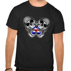 Barber Skulls T Shirt, Hoodie Sweatshirt