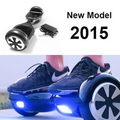Black-Electric-Smart-Self-Balancing-Scooter-Hover-Board-Unicycle-Balance-2-Wheel