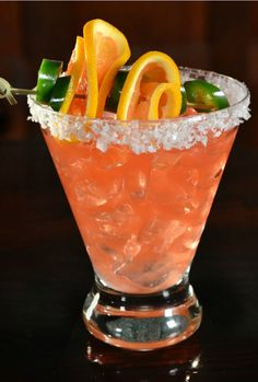 Jose Cuervo Jalapeño's Revenge Cocktail - a delicious and easy Jalapeño margarita!