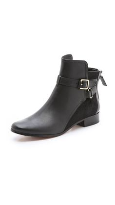 Diane von Furstenberg Keith Haircalf Flat Booties $398.00 Have these and love them!!!