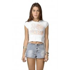 Get the latest trends in women's clothing at Ardene. Shop fashion tops, bottoms, dresses, and more in a variety of styles, fabrics and prints for all seasons. Girl Outfits, Summer Outfits, Cute Outfits, Fashion Outfits, Womens Fashion, Lingerie, Crop Tee, Latest Trends, Clothes For Women