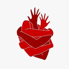 Image result for heart arms illustration
