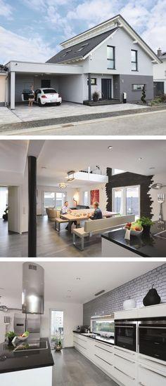 ein versetztes pultdach verleiht diesem bungalow ein modernes erscheinungsbild d i y wood. Black Bedroom Furniture Sets. Home Design Ideas