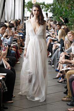 Sur-Robe de mariée Joshua - Automne Hiver 2015 - New York - Delphine Manivet