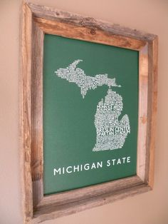 The State of MSU #spartans - love love this