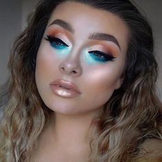 "18k Likes, 41 Comments - Lime Crime (@limecrimemakeup) on Instagram: ""Day dreaming about being a mermaid... ☁ 'Pearl' from HI-LITE: Mermaids via @jessicarose_makeup."""