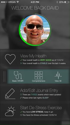 COMING SOON - the first FDA approved smartphone-connected consumer wearable device that can take your ECG and Breathing Rate.  (Mobile apps)