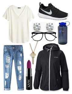 """""""Rainy day outfit"""" by melissalovescupcakes on Polyvore"""