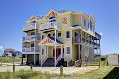 Outer Banks Vacation Rentals   Hatteras Vacation Rentals   Here Comes the Sun #965    (8 Bedroom Oceanfront House)