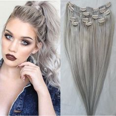 New High Quality 100% Real Virgin Remy Brazilian Human Hair Clip In Hair Extensions 7pcs/set 100g/120g set    All Hair Extensions in my shop can be customized to any hair extensions method including:   Clip In's  Tape In's  Pre-Bonded Fusion  Micro-Bead  Weaving Wefts    100% human hair  The color will last forever  Life time more than 18 months  Tangle free  Shedding free  The hair is very soft   Healthy Bouncy Shine  Holds the curl after wash  Healthy end  Full and thick  No any split…