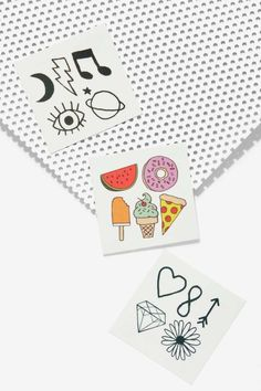 Inked by Dani Where It's Tat Temporary Tattoo Set - Accessories | Novelty