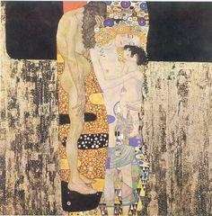 Las tres edades de la mujer - Klimt