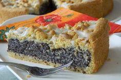 Mohn-Pudding-Kuchen