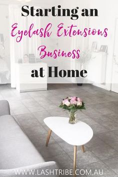 In this blog, we'll take a look at the concept of having a home salon; amazing benefits and some tips that could help if you ever decide to set-up your own lash extensions business right in the comfort of your home.