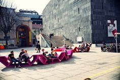 Yard Furniture Museumsquartier, Vienna (PPAG Architects, since 2004)