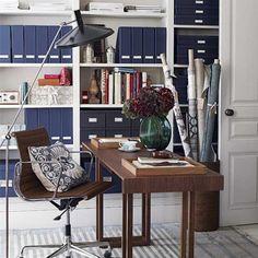 Home office shelving   Home offices   Shelving   Image   housetohome.co.uk