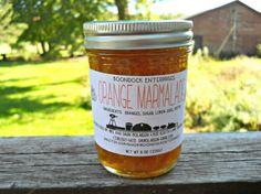 Orange Marmalade - All Natural Marmalade - Citrus Marmalade - Gluten Free Marmalade - Satsuma Marmalade - Housewarming Gift - Hostess Gift by Boondock Enterprises on Gourmly