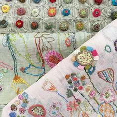 A pretty parcel just arrived with these lovely Sophie Digard scarves #l'uccello melbourne #sophiedigard
