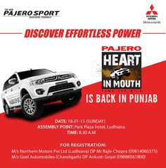 Heart in Mouth Event Ludhiana Details