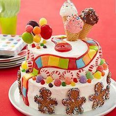 Candy Land cake idea