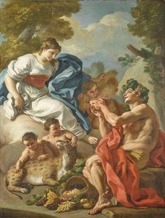 Francesco de Mura | Bacchus and Ceres