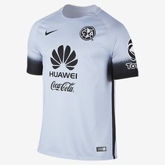 Nike Club América Stadium Decept Third Jersey 2016 The Dri-FIT fabric keeps  sweat in comfort Fabric  Dri-FIT recycled polyester Authentic Nike Guarantee b27ad450bc1e4