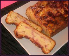 Una Fiera en mi cocina: Bizcocho de queso cottage, fresa y manzana, paso a paso (tmx)