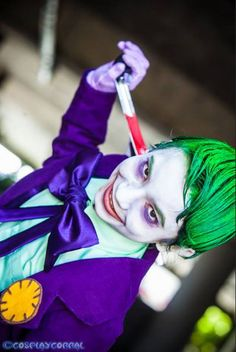 Joker Jr Cosplay - Photo by © Craig's Cosplay Corral