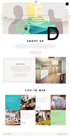 <3 this website layout! Creative, colorful, and original... just how we like it!