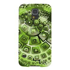 Retro 60s Pattern in Green Galaxy S5 Case