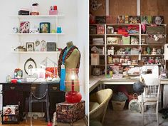 My dream spaces and great DIYs on this site!