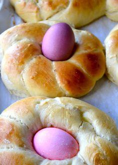 Slightly Sweet Easter Bread