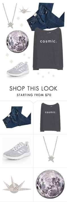 """""""Cosmic Girl.💫"""" by catpaw29 ❤ liked on Polyvore featuring 3.1 Phillip Lim, Juvia, adidas, Hearts on Fire, JoÃ«lle Jewellery and Diesel"""