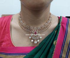 Andhra Design Diamond Necklace