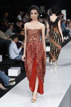 WomenDesigner: Modis dan Keren, Dress Batik Indonesia Modern