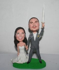 """""""I will protect you forever"""" cake topper"""