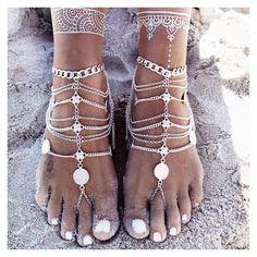GypsyLovinLight Boho anklets