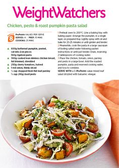 Our #weightloss friendly Chicken Pasta Salad recipe is great for the whole family! #cooking #weightlossmotivation