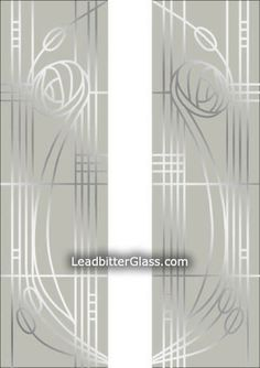 Our Charles Rennie Mackintosh inspired glass designs for split glazed doors or side panels can be altered to suit your exact glass sizes and shape of door/window glass. The Leadbitter Glass studio can create almost any Rennie Mackintosh, Door Window Glass, Glass Door, Glazed Door, Art Deco Design, Glass, Charles Rennie Mackintosh, Glass Design, Mirrored Furniture Decor