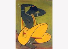 Jamini Roy - Santhal Woman