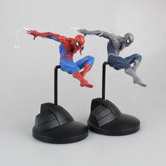 """Crazy Toys The Amazing Spiderman 18/"""" Peter Paker Action Figurine Modèle Bleu"""