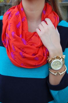 love this Stella and Dot scarf!