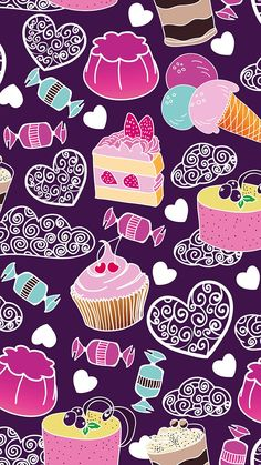 candy and cake