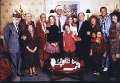 national lampoons christmas vacation the whole griswold family at clark ellens house for christmas