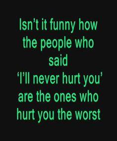 Hurt You The Worst – Sad Love Quote